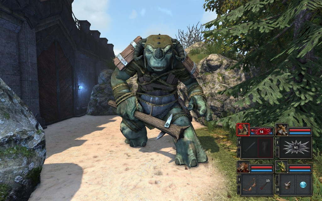 Grimrock Troll