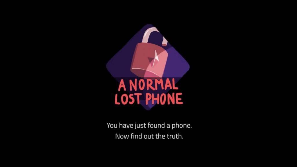 ACTUS | A Normal Lost Phone pointe le bout de son nez