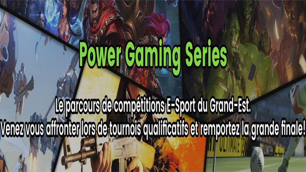 ACTUS   Les PGSeries boostent l'e-sport dans le Grand-Est !