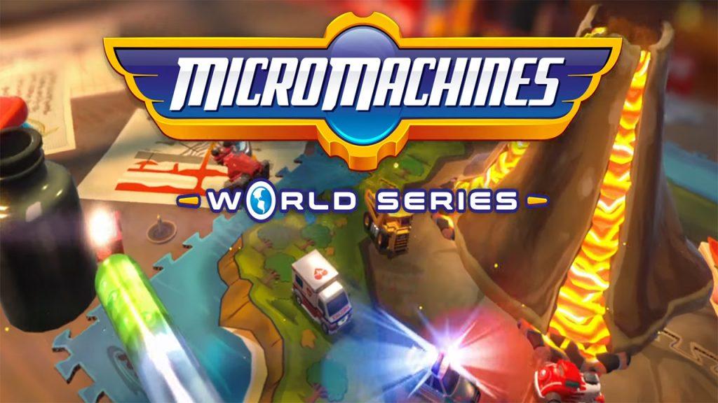 ACTUS   Micro Machines World Series dévoile son mode Battle Arena en vidéo!