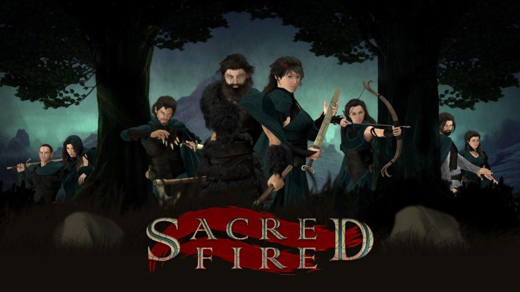 ACTUS   Sacred Fire : un Kickstarter en bonne voix et un trailer