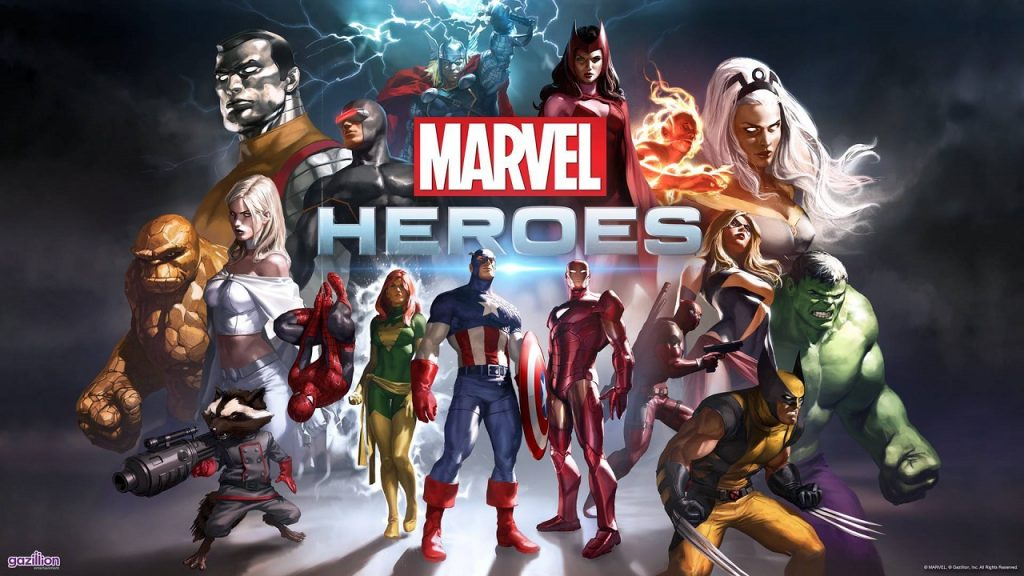 ACTUS   Marvel Heroes débarque sur console