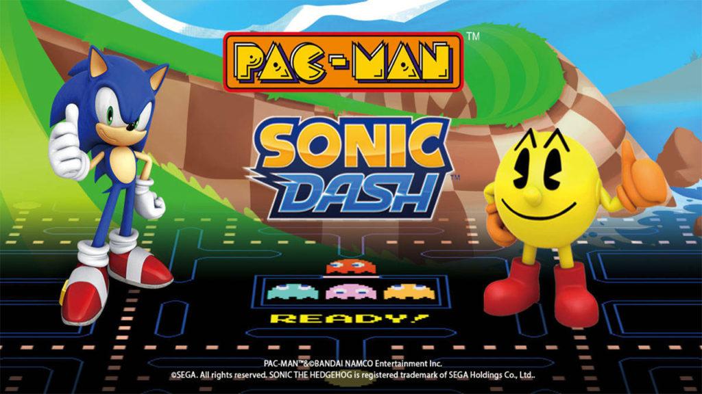 ACTUS   Pac-Man et Sonic réunis dans un même jeu mobile ?
