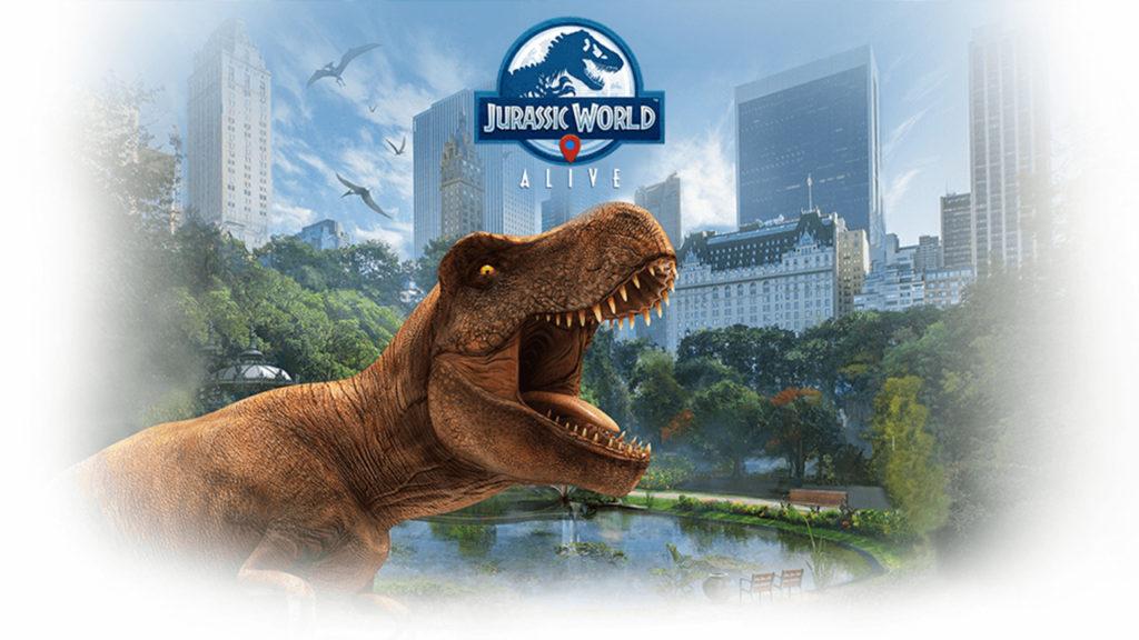 ACTUS   Réalité Augmentée : Jurassic World Alive, Pokémon Go mais avec des dinosaures !