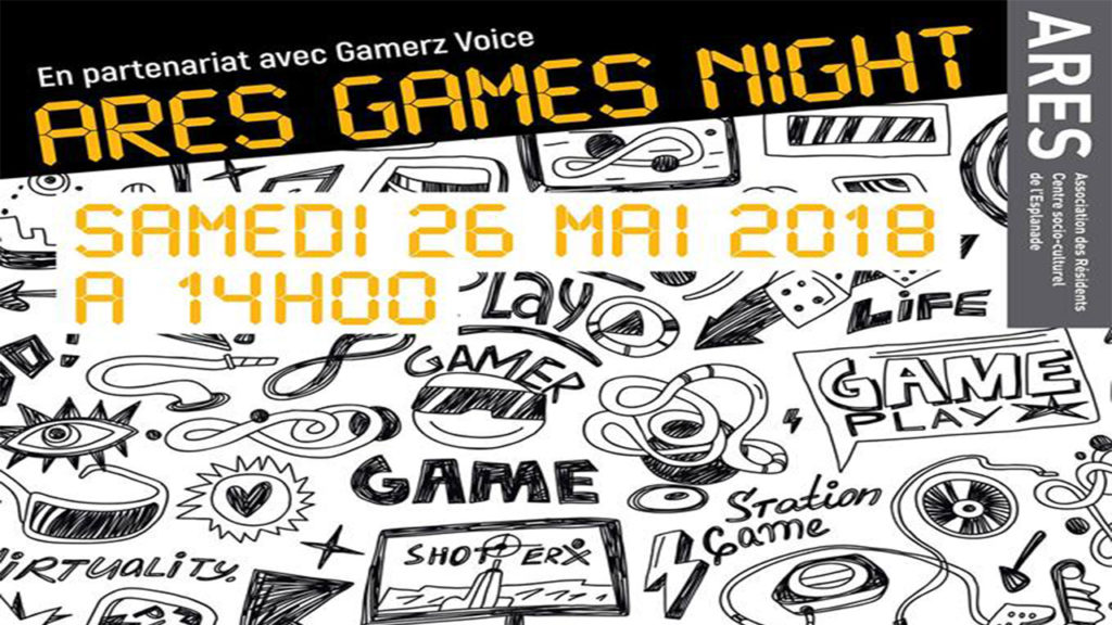 EVENEMENTS | Retrouvez La Chronique du Geek à l'Ares Games Night !