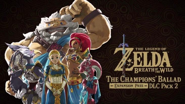 ACTUS |The Legend of Zelda BOTW : Le second DLC est déjà dispo !