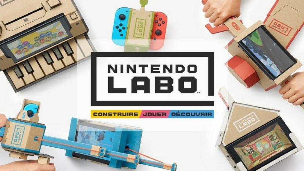ACTUS | Nintendo annonce Nintendo Labo, une expérience inédite pour Nintendo Switch