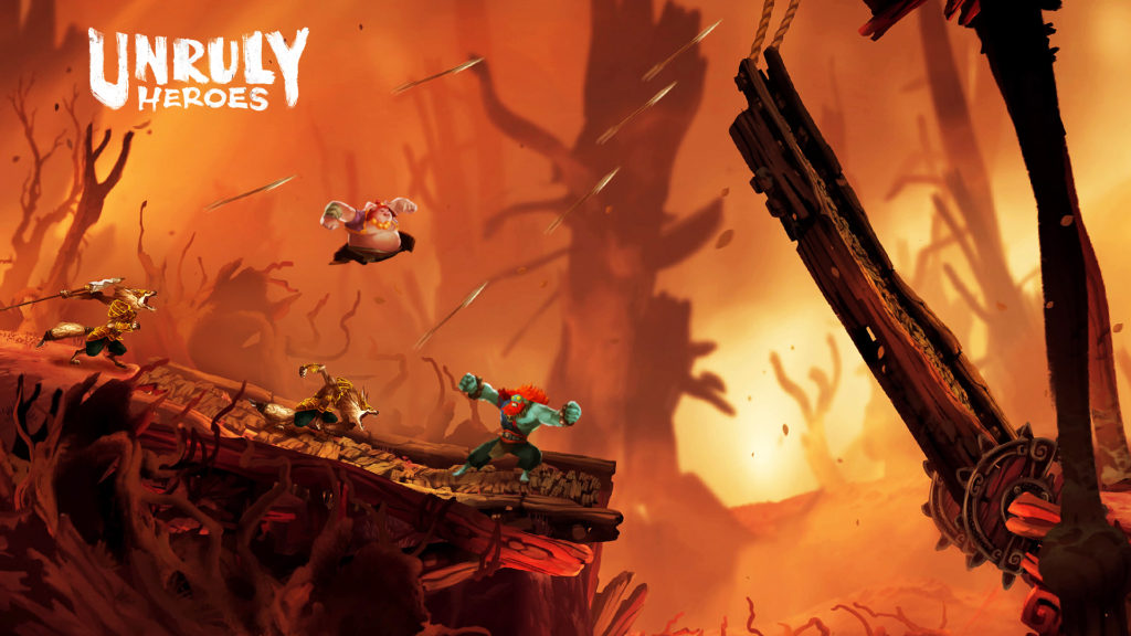 ACTUS | Une page steam pour Unruly Heroes