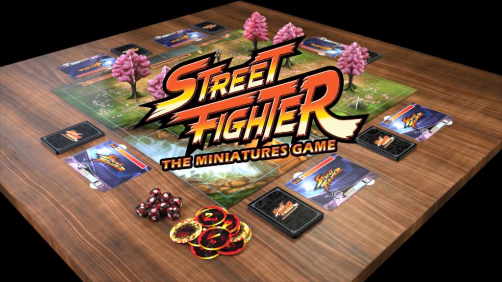 ACTUS | Une réussite pour le Kickstarter de «Street Fighter : The Miniatures Game»